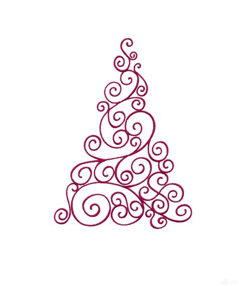 studio decor holiday clip tree drawing designs images pictures becuo