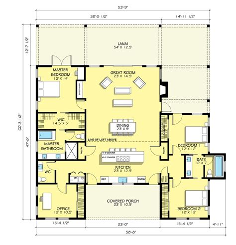 Lanai House Plans Lanai Farmhouse Time To Build His With A Bonus Room Somewhere Would Be Lovely House