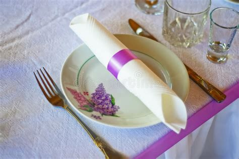 table cutlery set up table setting for dining or cutlery and plate