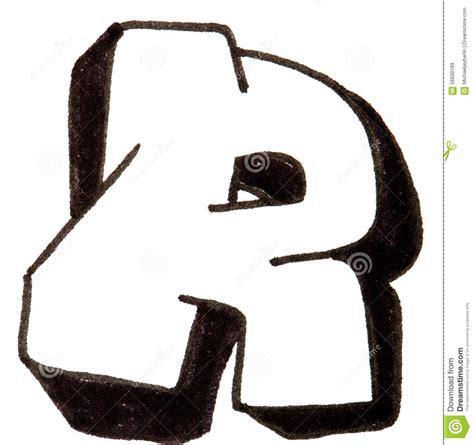 letter  alphabet  graffiti style stock image image