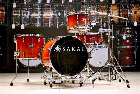 Harga Drum Sakae Pac D sakae pac d compact drum set w hardware sakae drums made