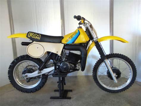 1980 suzuki rm400 rm 400 two stroke ahrma mx dirt bike vintage