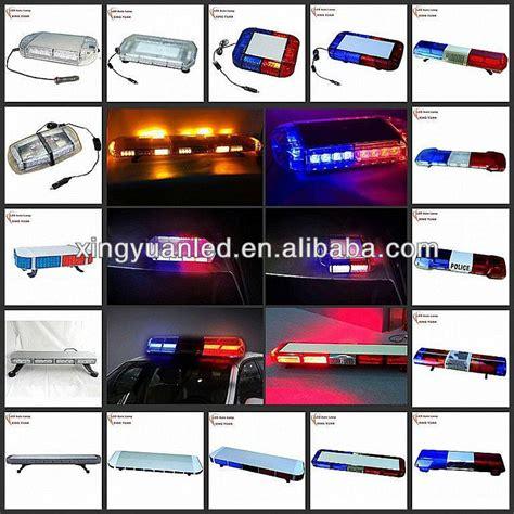used emergency light bars dc12v 128w police amber led strobe light bar police led