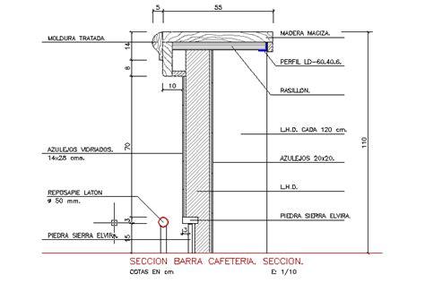 desk section bloques cad autocad arquitectura download 2d 3d dwg