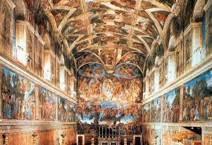 What Is Painted On The Ceiling Of The Sistine Chapel my museum 01 03 01