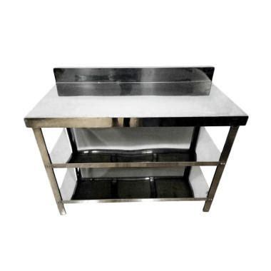 Meja Stainless Dapur jual meja stainless steel terbaru harga murah blibli