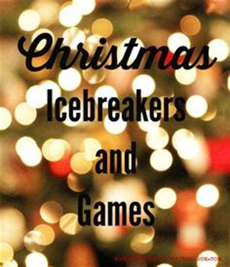 christmas icebreaker questions free printable other