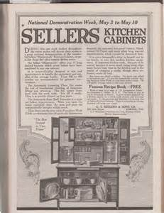 Kitchen Cabinet In History by Sunday Adverts Hoosier Kitchens Cabinets And