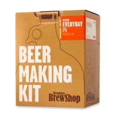bed bath and beyond pocatello brooklyn brewshop everyday ipa beer making kit color