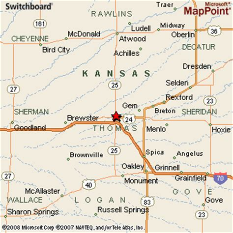 colby texas map colby kansas