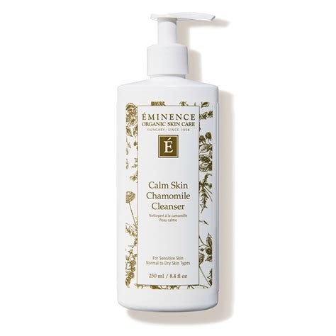 Skin Therapy Calm Detox by Eminence Organic Skin Care Calm Skin Chamomile Cleanser