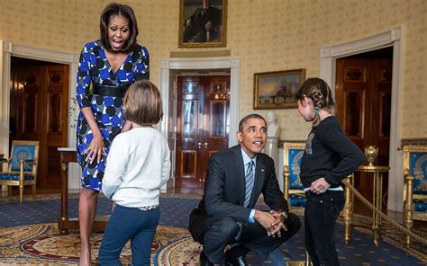 obama white house tour surprise guests get a presidential shock during newly