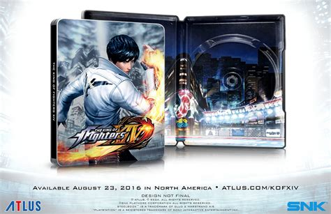 Kaset Ps4 The King Of Fighters Xiv Steelbook Launch Edition the king of fighters xiv 233 dition steelbook day one