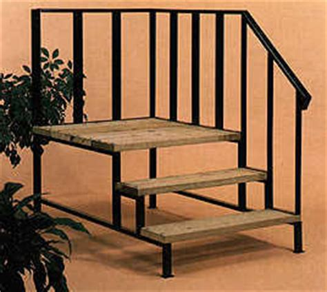 mobile home metal steps stairs