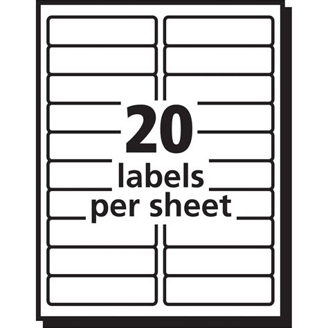 address label template 16 per sheet avery easy peel white laser mailing labels ave5261