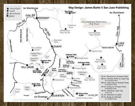 colorado jeep trail maps ouray jeep trail map switzerland of america ouray jeep