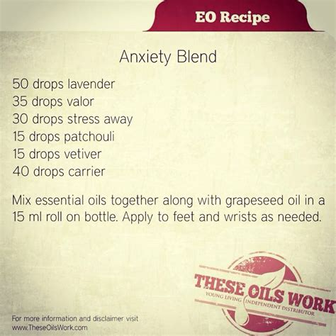 Detox Anxiety by 499 Best Living Essential Oils Images On
