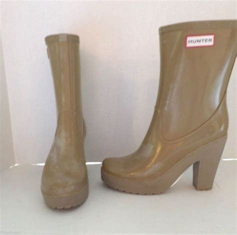 high heel rainboots 195 womens arine beige high heel fashion boot