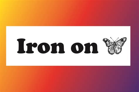printable iron on labels printless labels