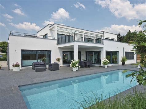 haus bauen in deutschland luxusvilla im bauhaus stil weberhaus