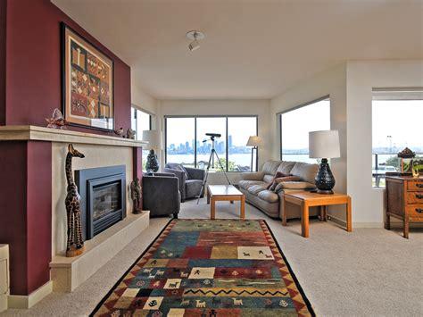 the living room seattle 1221 harbor ave sw 101 seabird condo alki seattle