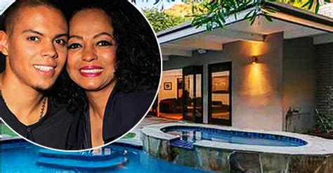 evan ross home wait til u see why diana ross son gave up his 1 25