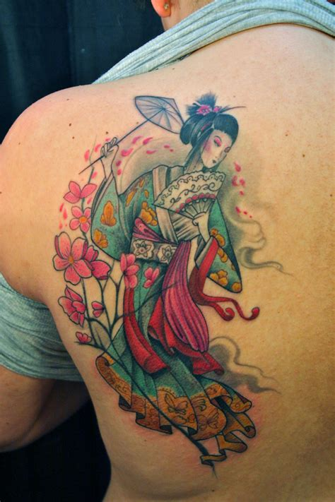 geisha girl tattoo design geisha tattoos designs ideas and meaning tattoos for you