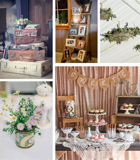 Chic Wedding Decor shabby chic vintage wedding ideas the barn at cott farm