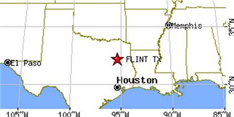 where is flint texas on map flint texas tx population data races housing economy