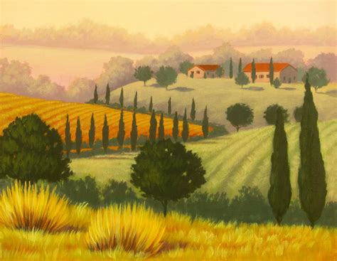 Dining Room Wall Murals by Tuscan Landscapes Www Ericdbeare Com