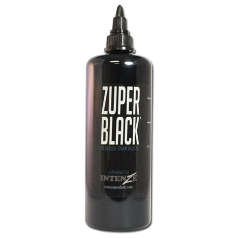 tattoo ink zuper black intenze zuper black