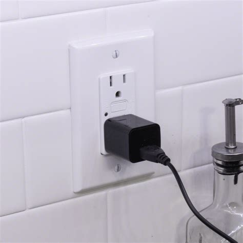 len outlet 1080p hd mini usb wall charger