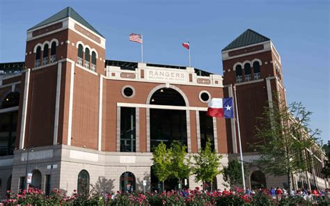 The Ballpark in Arlington is now Globe Life Park in