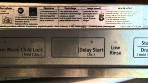 0 samsung code not working samsung dishwasher ie error