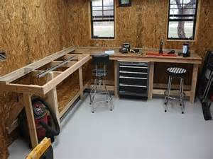 garage workbench designs gallery for gt garage workbench plans