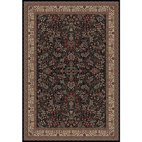 Natco Rugs by Natco Stratford Kazmir Black 5 Ft X 7 Ft 7 In Area Rug
