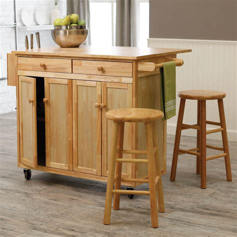 Kitchen Islands On Wheels With Seating by 10 Types Of Small Kitchen Islands On Wheels