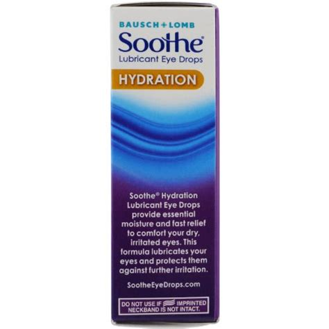 hydration drops free shipping bausch lomb soothe eye drops hydration