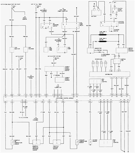 1991 chevrolet s10 wiring diagram wiring diagram