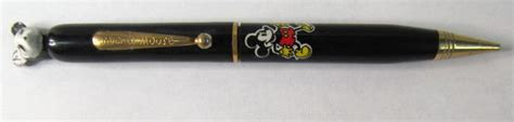 Disney Mickey Mouse Guard Mechanical Pencil antique walt disney disneyana for sale from gasoline