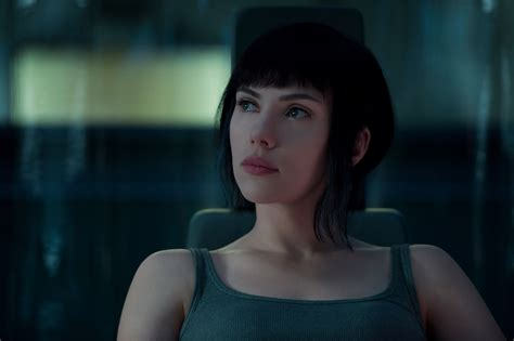 Scarlett Johansson Anime Movie Scarlett Johansson In Ghost In The Shell 2017 Hd Movies