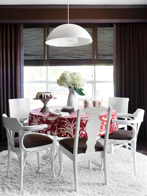 paint eclectic chairs   cohesive  hgtv