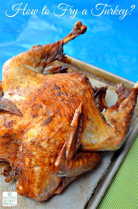 how do you deep fry turkey safely instructions