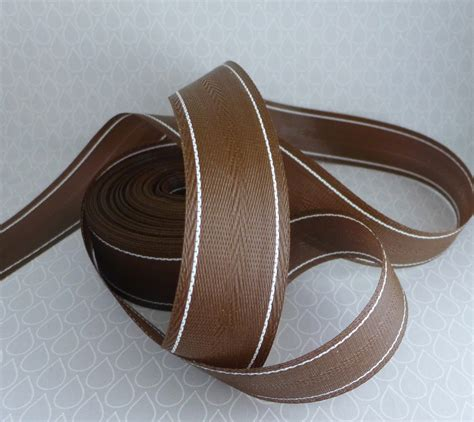 Lawn Chair Webbing by Reserved Lawn Chair Webbing Seven Yards Chocolate Brown