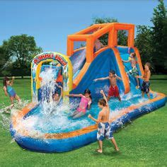 backyard blow up pools 1000 images about summer fun on pinterest water slides