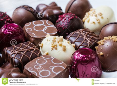 chocolates gourmet gourmet chocolates stock photos image 36029923