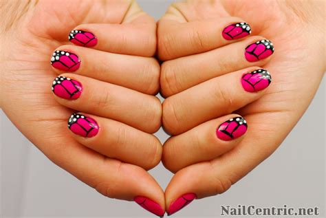 easy nail art butterfly how to create butterfly wings nail art tutorial