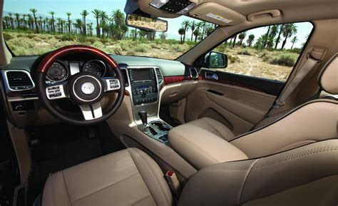 Jeep Overland Interior by Car And Driver