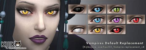Color Of Spring 2017 eye colors default replacement non default vampires