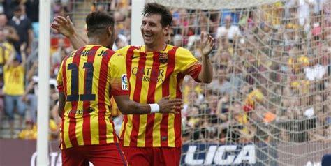 messi biography en francais liga messi et neymar donnent la victoire au bar 231 a